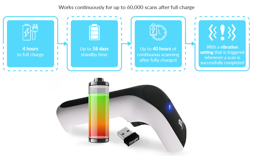 ScanAvenger Wireless Barcode Scanner